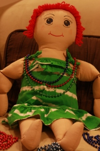 Beads with Lucy Doll